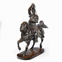 Italian Bronze Equestrian Sculpture of Emanuele Filiberto, Duke of Savoia, by Baron Carlo Marochetti (2 of 17)