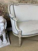 French Carved Wood Two Seat Settee (5 of 7)