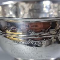 Rare Arts & Crafts Liberty & Co HM Silver & Enamel Cymric Bowl c.1905- Signed (10 of 14)