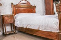Incredible Mahogany & Brass Napoleon II Double Bed (6 of 10)