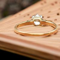 The Vintage Brilliant Cut Diamond Solitaire Ring (4 of 5)