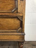 Early 20th Century Antique Oak Bureau Bookcase (2 of 17)