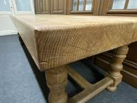 Rare Huge Oak French Farmhouse Dining Table (16 of 18)