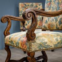 Pair of Carved Armchairs (6 of 8)