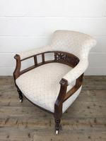 Pair of Victorian Mahogany Tub Chairs (12 of 17)