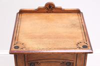 19th Century Pitch Pine Bedside Cabinet (12 of 13)