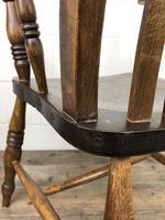 Victorian Ash & Elm Windsor Armchair (13 of 14)