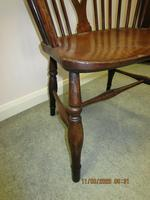 19th Century Wheel-back Windsor Chair (4 of 6)