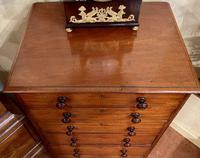 Early 19th Century Solid Mahogany Tall Chest of Drawers by Heal & Son (2 of 6)