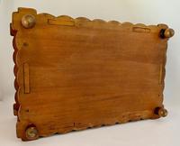 Unusual Pierced Box with Enamel Butterflies c.1920 (5 of 10)