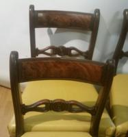 Set of 6 Regency Period Mahogany Dining Chairs (3 of 6)