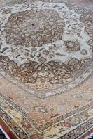 Fine Antique Tabriz Roomsized Carpet 382x285cm (3 of 9)