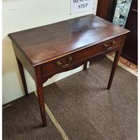 George III Cuban Mahogany Side Table (7 of 7)
