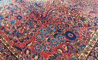 Fine Antique Saroukh Carpet / Rug (5 of 5)