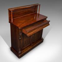 Antique Chiffonier, English, Mahogany, Sideboard, Cabinet, Victorian, Circa 1880 (2 of 12)