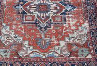 Antique Serapi Heriz Carpet 374x260cm (3 of 13)