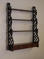 Most Attractive Chippendale Period Mahogany Hanging Rack