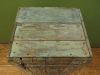 Rustic Painted Beach Shoes Cabinet, Boat House, Beach Hut Shabby Chic Cabinet (8 of 18)