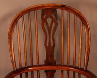 Good High Back Windsor Chair c.1840 (4 of 11)