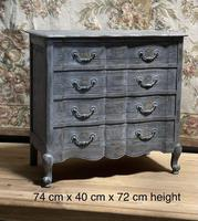 Smaller French Painted Chest of Drawers (6 of 9)