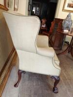 19th Century Winged Walnut Armchair (6 of 7)
