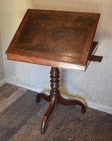 Georgian Mahogany Reading & Writing  Desk / Table (7 of 7)