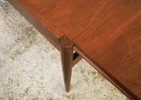 1960's Danish mid century dining table and 6 chairs (7 of 9)