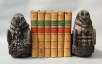 Good Pair of 18th Century Indian Carved Horse Head Bookends (2 of 9)