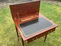 Edwardian Mahogany Ladies Writing Desk / Table (5 of 5)
