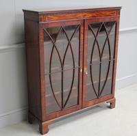 19th Century Mahogany Glazed Display Cabinet (3 of 7)