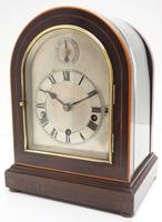 Mahogany & Bevelled Glass W&H Mantel Clock Dual Chiming Musical Bracket Clock Chiming on 8 Coiled Gongs (10 of 10)