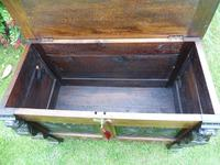Country Oak Cottage Coffer 1860 (8 of 12)