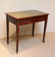 Edwardian Mahogany Writing Desk (4 of 6)