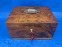 Walnut Jewellery Box c.1900 (12 of 14)