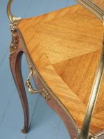 Victorian French Walnut Etagere or Side Table (12 of 15)