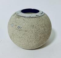 Antique Ceramic Match Strike Holder with Silver Rim (9 of 11)