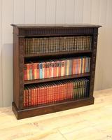 Dark Oak Open Bookcase (7 of 11)
