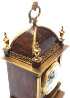 Incredible French Shell Mantel Clock French Cubed 8-day Miniature Bracket Clock (8 of 11)