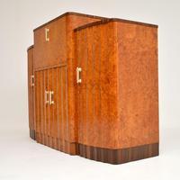 Art Deco Burr Walnut Cocktail Cabinet / Sideboard by Epstein (4 of 12)