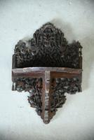 Anglo Indian Pierced & Carved Wall Bracket (3 of 6)