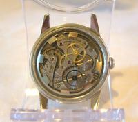 Vintage Tissot (omega) Jubileum Wrist Watch 1953 16 Jewel Stainless Steel Case Fwo (10 of 12)