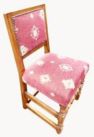 Fabulous Set of Eight Cherrywood Dining Chairs (7 of 8)