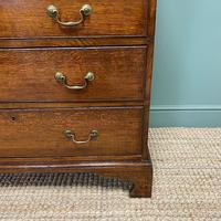 Period Oak Georgian Antique Chest of Drawers (6 of 6)