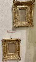 Pair of Pretty Small Victorian Gilt Foliate Decorated Picture Frames (2 of 2)
