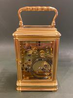 Good Late 19th Century French Carriage Clock with Alarum by the Famous Maker Alfred Drocourt (2 of 5)