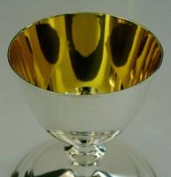 Rare Large English Solid Sterling Silver Travelling Goblet Chalice 1949 (6 of 12)