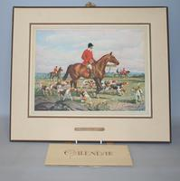 Unused 1939 calendar with a mounted George Russel print