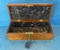 Victorian Burr Maple, Mahogany & Walnut Box (11 of 11)