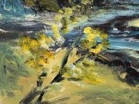 20th Century Oil Painting Wales Menai Bridge Church Straits Snowdonia Mountains (24 of 27)