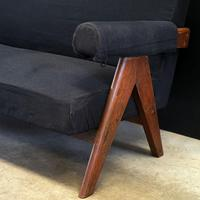 Upholstered Chandigarh Easy Armchair & Sofa by Pierre Jeanneret (4 of 8)